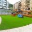 césped artificial Norcesped instalación en terraza