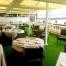césped artificial Norcesped instalación obra publica restauración Hotel Tamarises