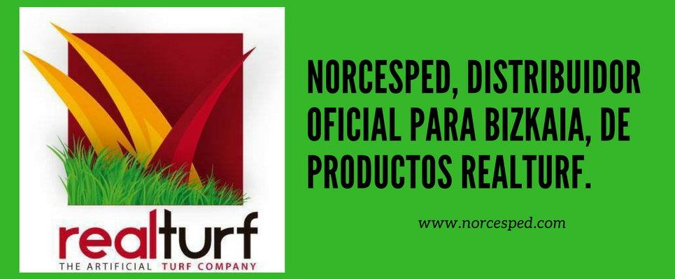 NORCESPED, DISTRIBUIDOR EXCLUSIVO PARA BIZKAIA DE PRODUCTOS REALTURF.