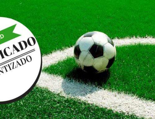 Césped artificial, certificado y test FIFA