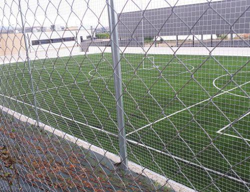 Campo de fútbol en British School de Navarra