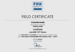 FIFA CERTIFICADO